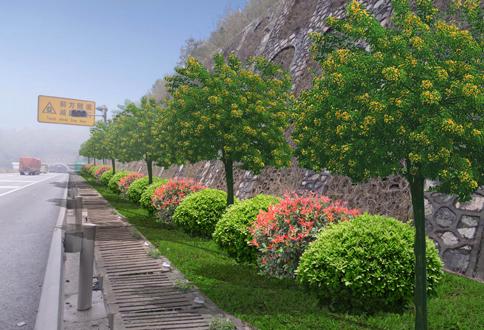 京珠南高速公路绿化工程