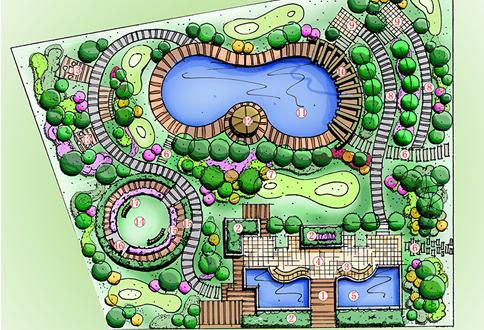 海南私家小花园景观设计